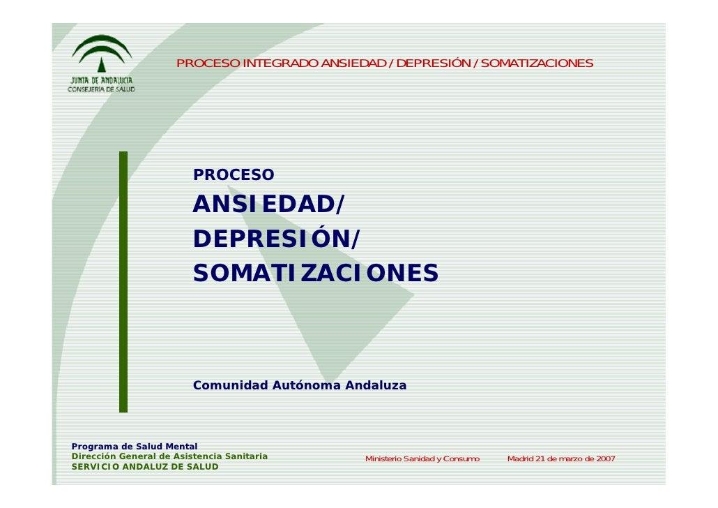PROCESO INTEGRADO ANSIEDAD / DEPRESIÓN / SOMATIZACIONES                              PROCESO                           ANS...