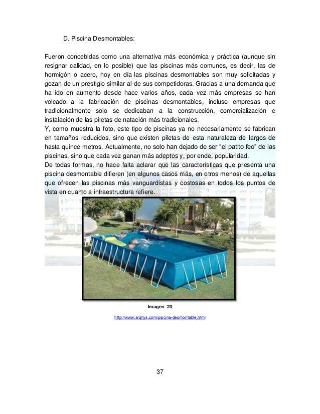 Proceso constructivo de una piscina - Como se hace una piscina ...