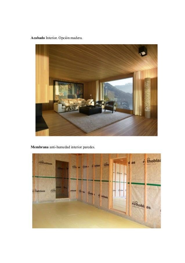 Casas de estructura de madera las casas huf haus estn hechas con estructura de madera y hormign - Casas estructura de madera ...