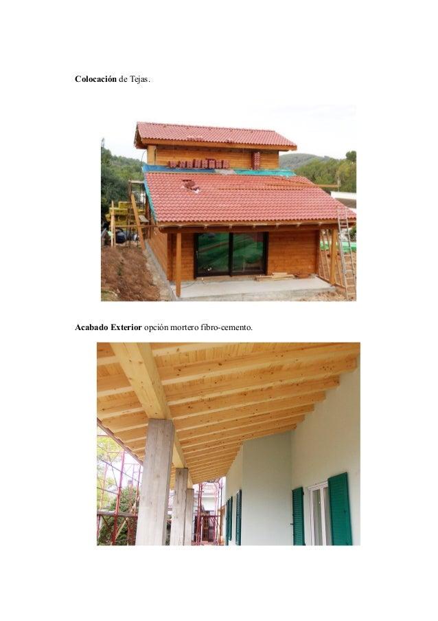 Proceso construcci n casas estructura madera - Estructura casa madera ...