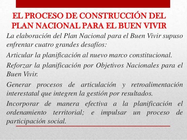 Disposicionesconstitucionalessobre laplanificaciónnacionalLa Constitución de 2008posiciona a laplanificación y a laspolíti...