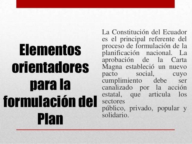 • La planificaciónalrededor de grandesobjetivos nacionalesdemanda una nuevacultura institucionalbasada en laarticulación, ...