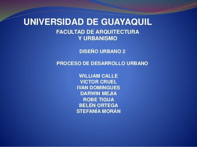 UNIVERSIDAD DE GUAYAQUIL WILLIAM CALLE VICTOR CRUEL IVAN DOMINGUES DARWIN MEJIA ROBE TIGUA BELÉN ORTEGA STEFANÍA MORÁN FAC...