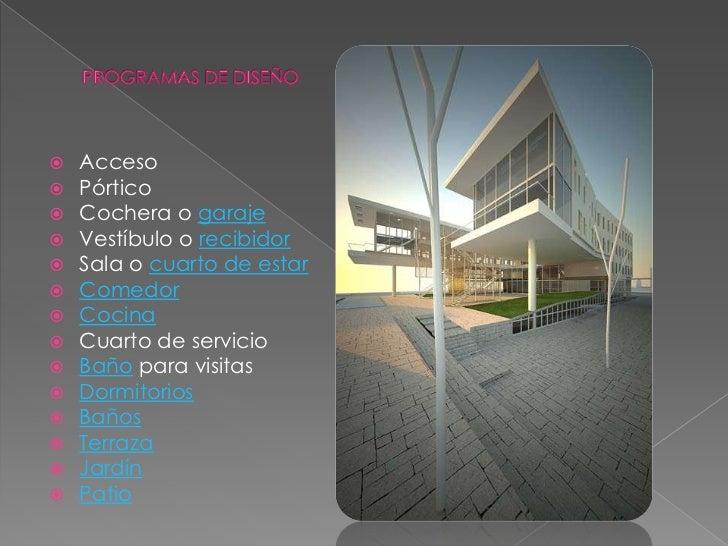 proceso de dise o arquitect nico On programas para diseno arquitectonico