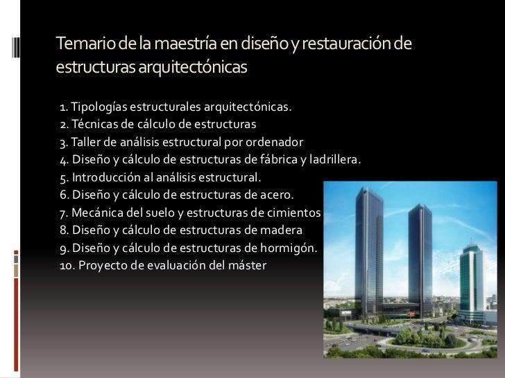 Proceso de dise o arquitect nico for Maestria en interiorismo arquitectonico
