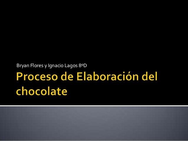 Elaboraci n Del Chocolate
