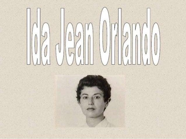 Proceso de enfermería IDA JEAN ORLANDO Slide 3