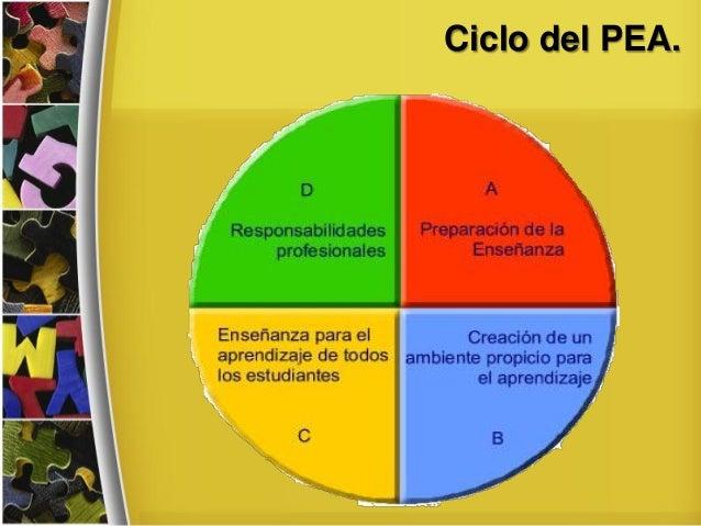 Ciclo del PEA.