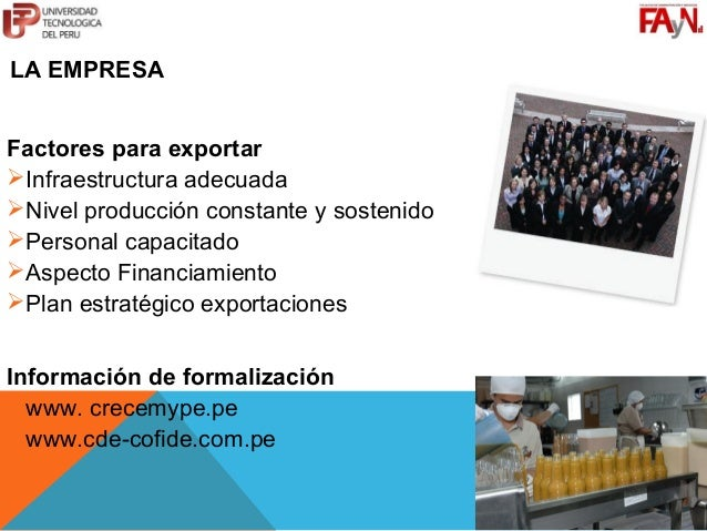 MG. JORGE I. GUERRERO VÁSQUEZ                             C12124@UTP.EDU.PELA EMPRESAFactores para exportarInfraestructur...