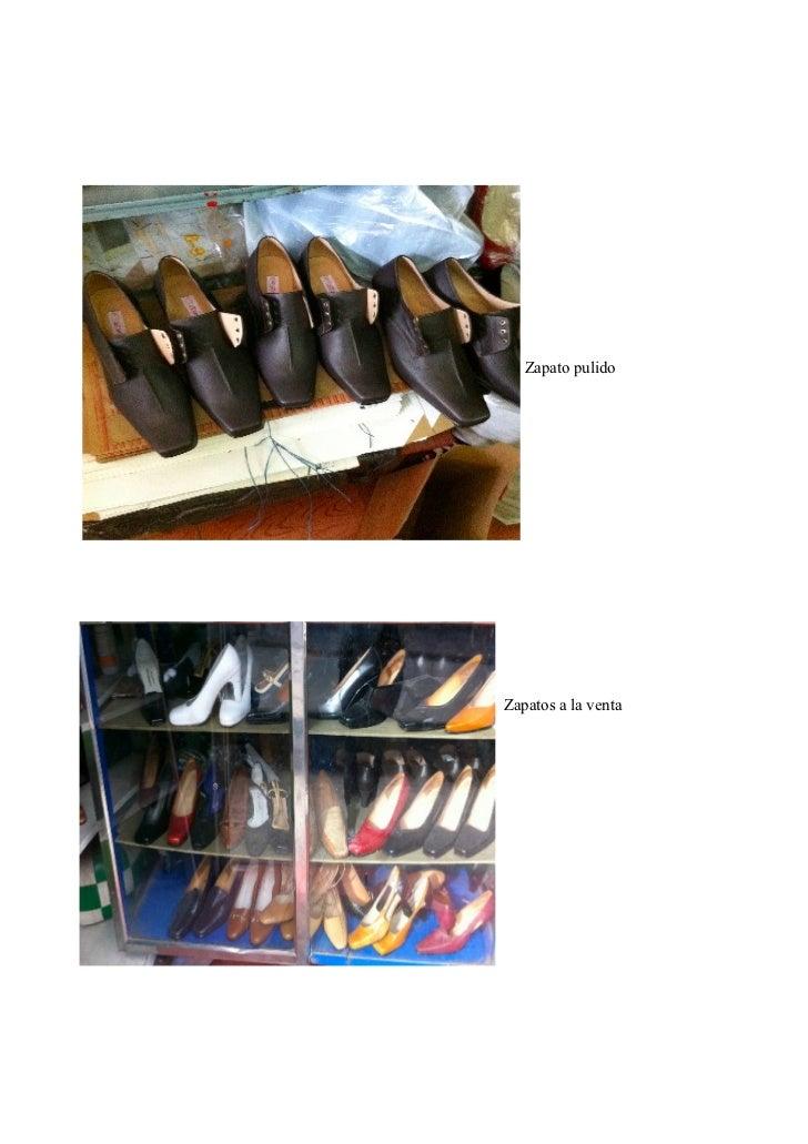 Zapato pulidoZapatos a la venta