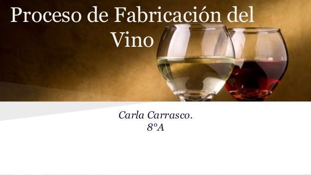 Circuito Productivo Del Vino : Proceso de fabricación del vino