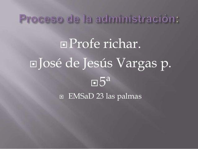  Profe   richar. José de Jesús Vargas p.             5ª        EMSaD 23 las palmas
