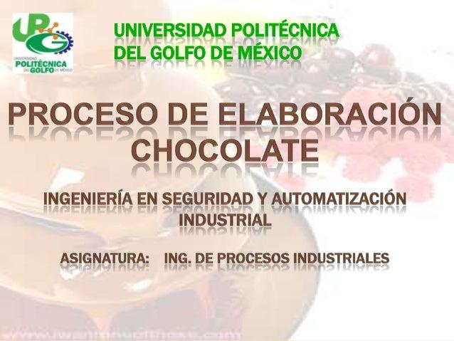 UNIVERSIDAD POLITÉCNICA DEL GOLFO DE MÉXICO