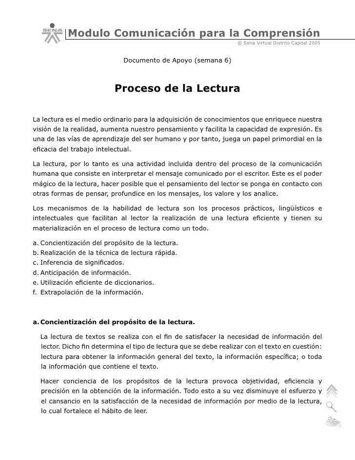 Modulo Comunicación para la Comprensión                                                                   © Sena Virtual D...