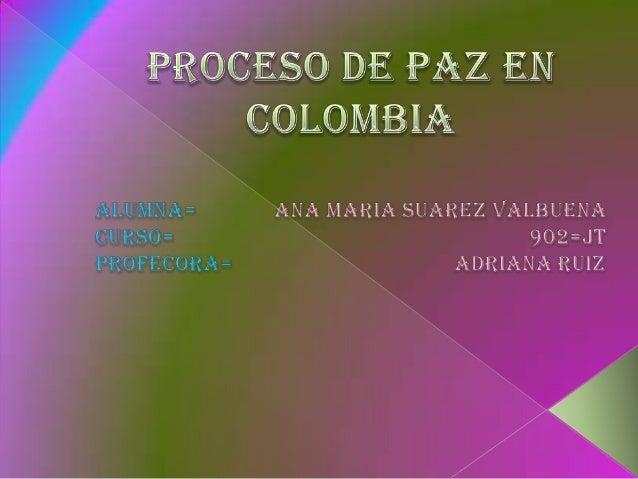  En las últimas décadas, la historia colombiana ha presenciado numerosas treguas, en las cuales las partes involucradas d...