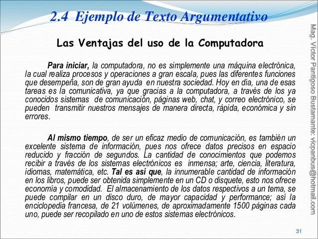 Ejemplos De Textos Argumentativos Cortos Para Niños De Primaria Compartir Ejemplos