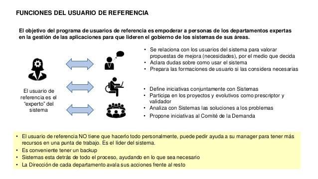 """El usuario de referencia es el """"experto"""" del sistema • Se relaciona con los usuarios del sistema para valorar propuestas d..."""