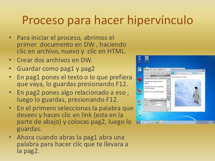 Proceso para colocar marcos, hipervínculo y video Slide 2