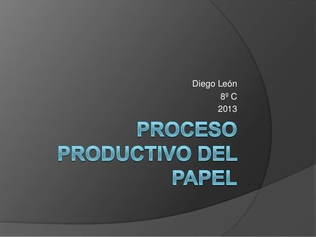 Diego León 8º C 2013