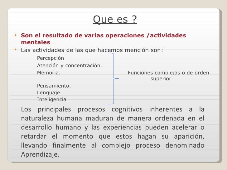 Procesos cognitivos por ISABEL YAUCEN Slide 2