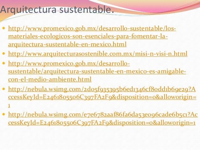 Procesos de producci n sustentable for Arquitectura sustentable pdf