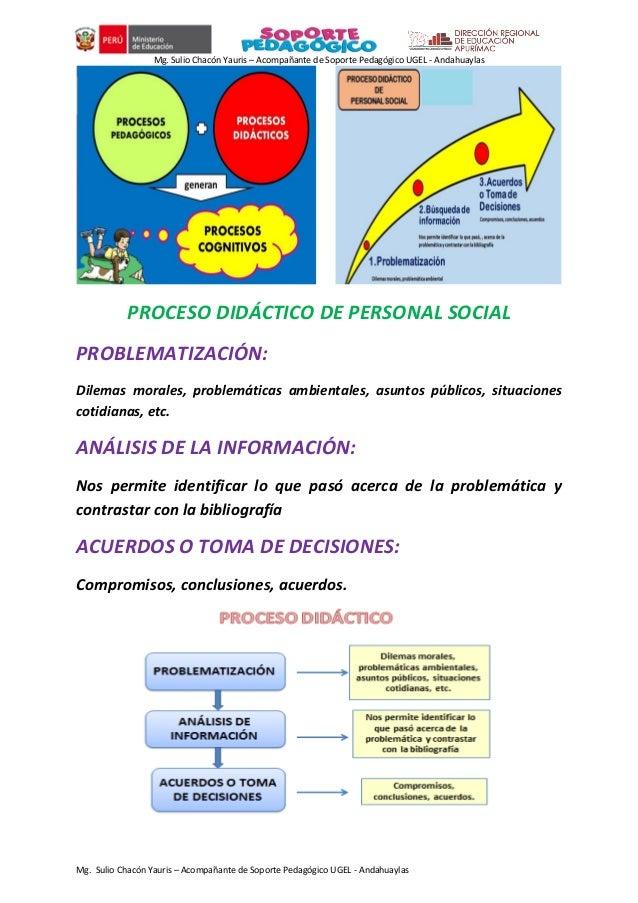 Mg. Sulio Chacón Yauris – Acompañante de Soporte Pedagógico UGEL - Andahuaylas Mg. Sulio Chacón Yauris – Acompañante de So...