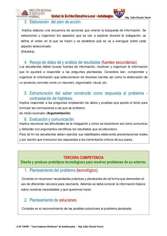 PROCESOS DIDÁCTICOS DE CIENCIA Y AMBIENTE Slide 3
