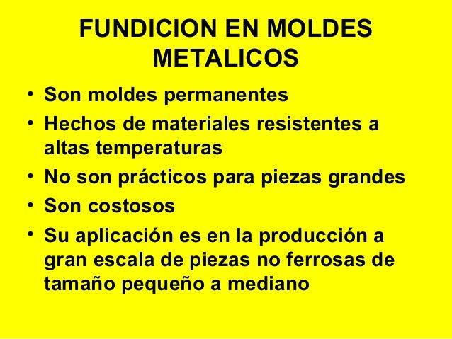PROCESOS ESPECIALES DE FUNDICIÓN Slide 3