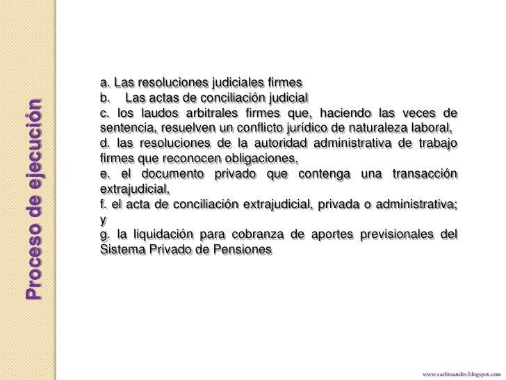 Ley 29497 procesos laborales for Que es un proceso extrajudicial