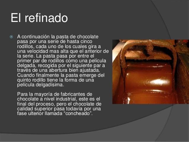 Procesos productivos del chocolate ponce 8ºb