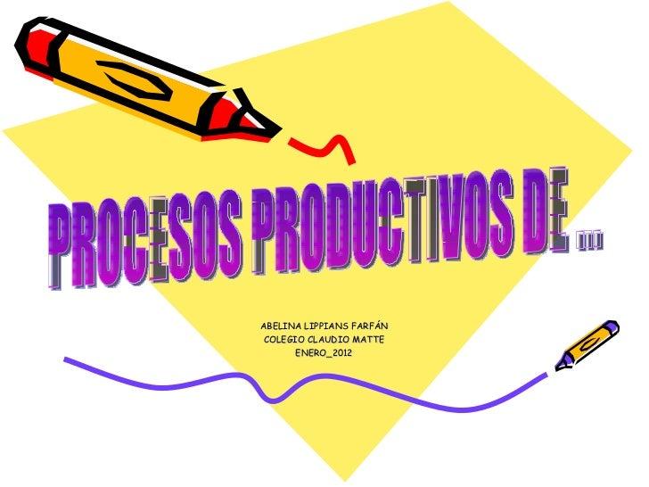 Validar que las cantidades que ingresan al proceso sean las mismas que salen del proceso. · Generar Indicadores de gestión de las áreas del proceso productivo.