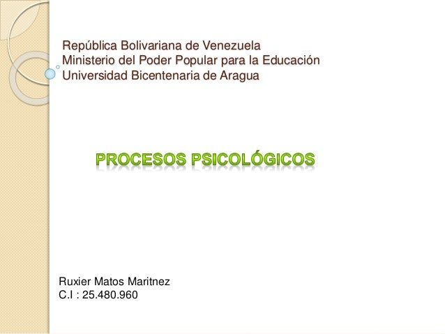 República Bolivariana de Venezuela Ministerio del Poder Popular para la Educación Universidad Bicentenaria de Aragua Ruxie...