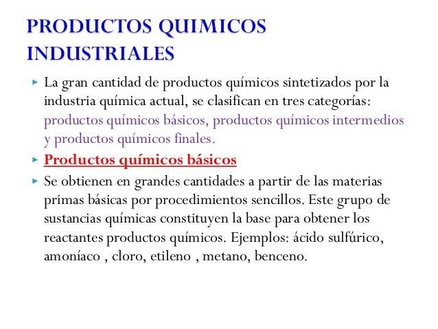 Industria quimica y la transformacion de los materiales for Procesos quimicos en la cocina