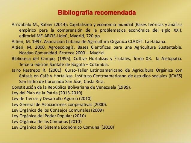 Procesos sociales en la producci n y formas de for Alelopatia en hortalizas