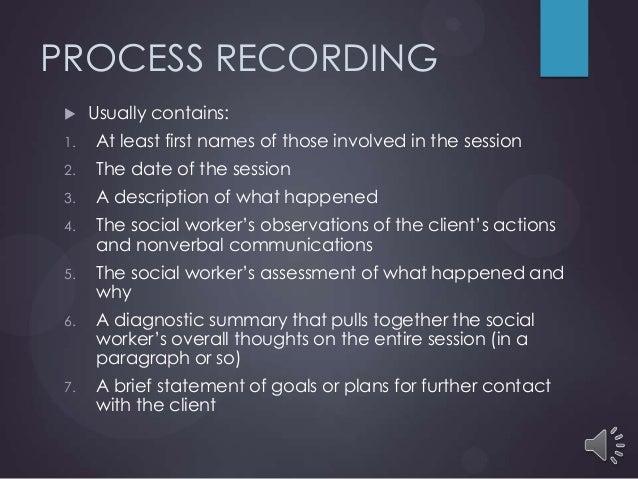 process recording 13 fs sw4080