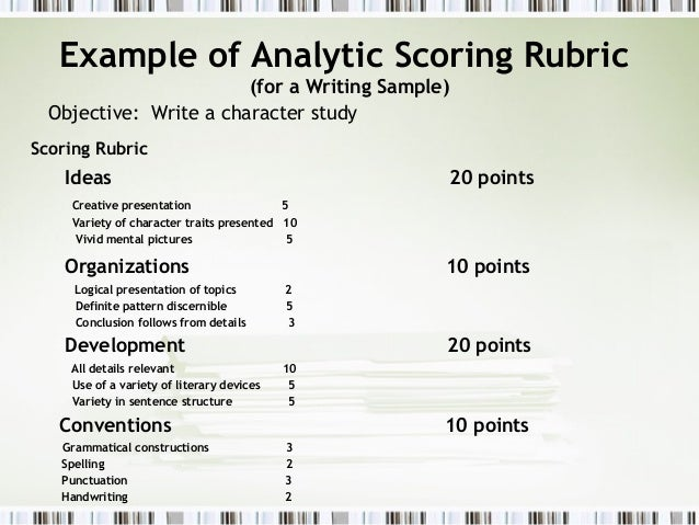 rubric for creative writing essay Always use the rubric when marking the creative essay (paper 3, section a) • marks from 0–50 have been divided into five major assessment rubric for essay – first additional language [50 marks] criteria exceptional skilful moderate -writing maintains focus -coherence in content and ideas.