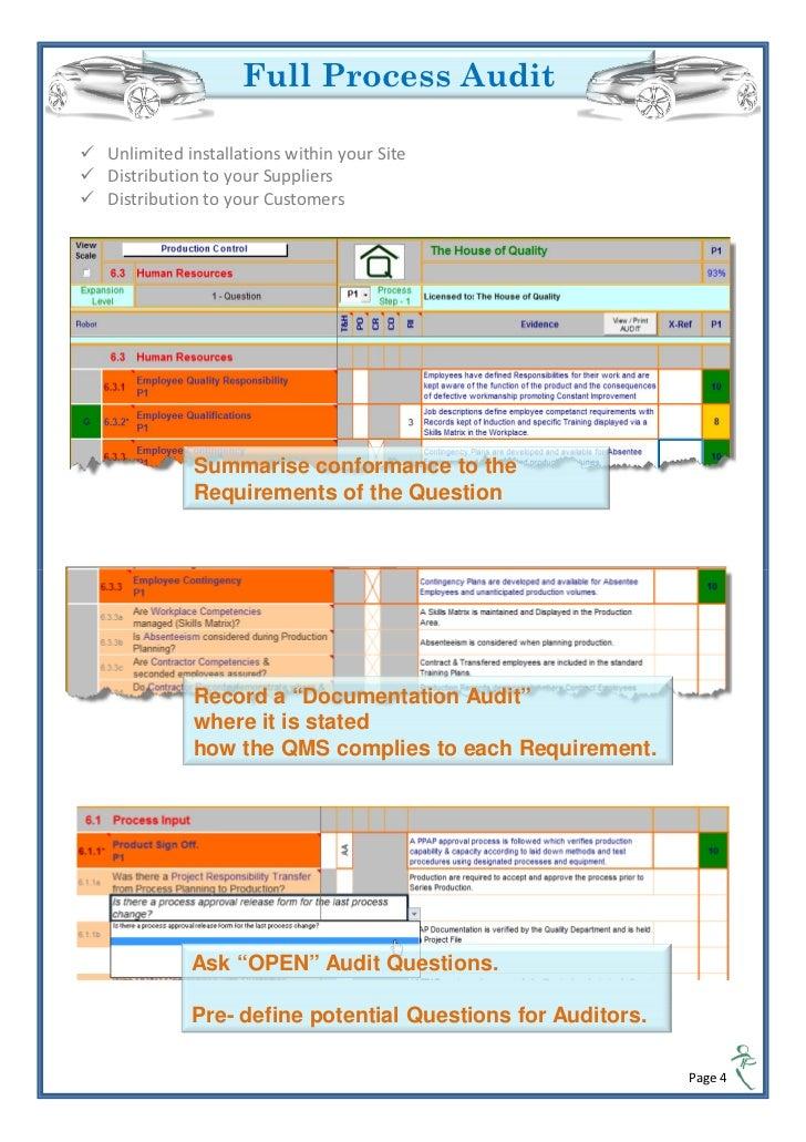 vda 6 3 process audit innovator rh slideshare net VDA 6.3 Process Audit Checklist VDA 6.3 Audit Training