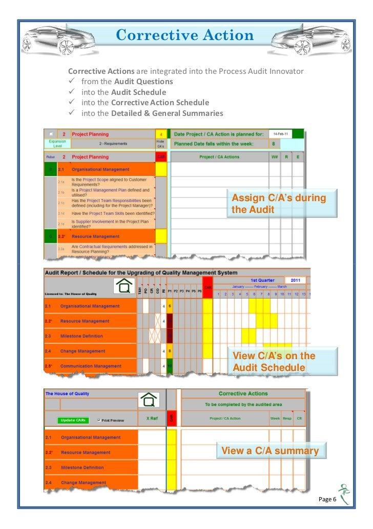 Process Audit Checklist Iatf 16949