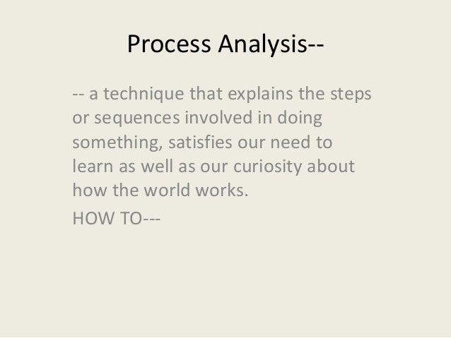 process analysis paragraph topics
