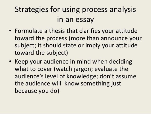 process analysis essay about dating The process essay is writing that explains how to do something or how something works by giving a step-by-step process analysis essay created date: 9/7/2006 6.