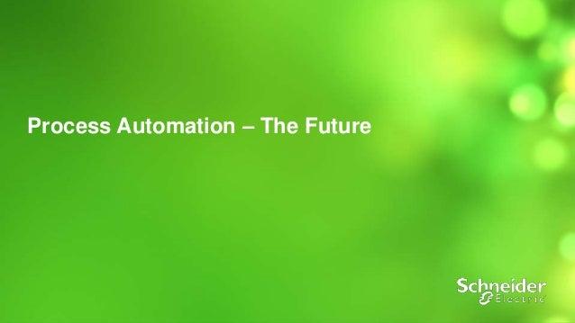 1  Process Automation – The Future