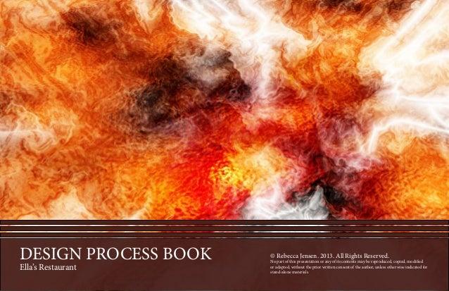 PROCESSBOOK-©RebeccaJensen.2013.AllRightsReserved.Nopartofthispresentationoranyofitscontentsmaybereproduced,copied,modifie...