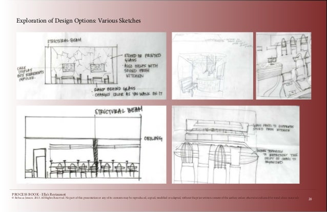 Restaurant renovation design process book