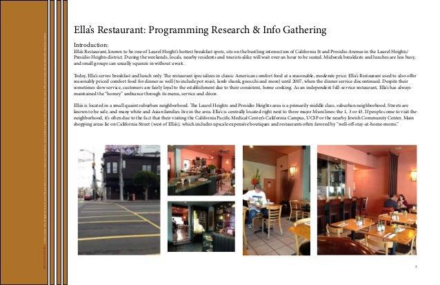 Restaurant Renovation Design