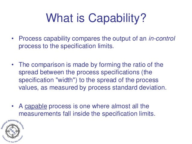 Process Capability - Cp, Cpk  Pp, Ppk