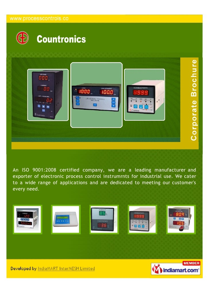 An ISO 9001:2008 certified company, we are a leading manufacturer andexporter of electronic process control instrumrnts fo...