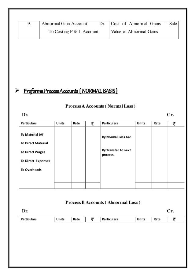 process costing case Under the fifo method of process costing, costs are transferred to next department and ultimately to finished goods in the order in which they entered the current department.