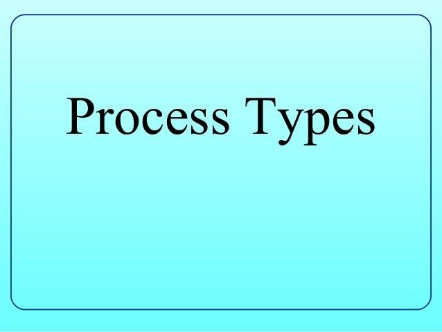 Process Types
