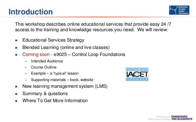 Process Education on Demand