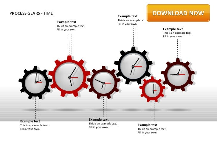 PROCESS GEARS - TIME                                                                                     Example text     ...